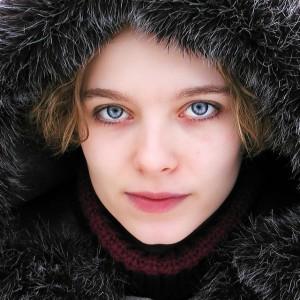 woman warmly dressed